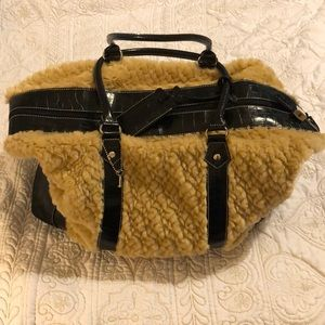 Large Suzanne Somers tote or overnight bag